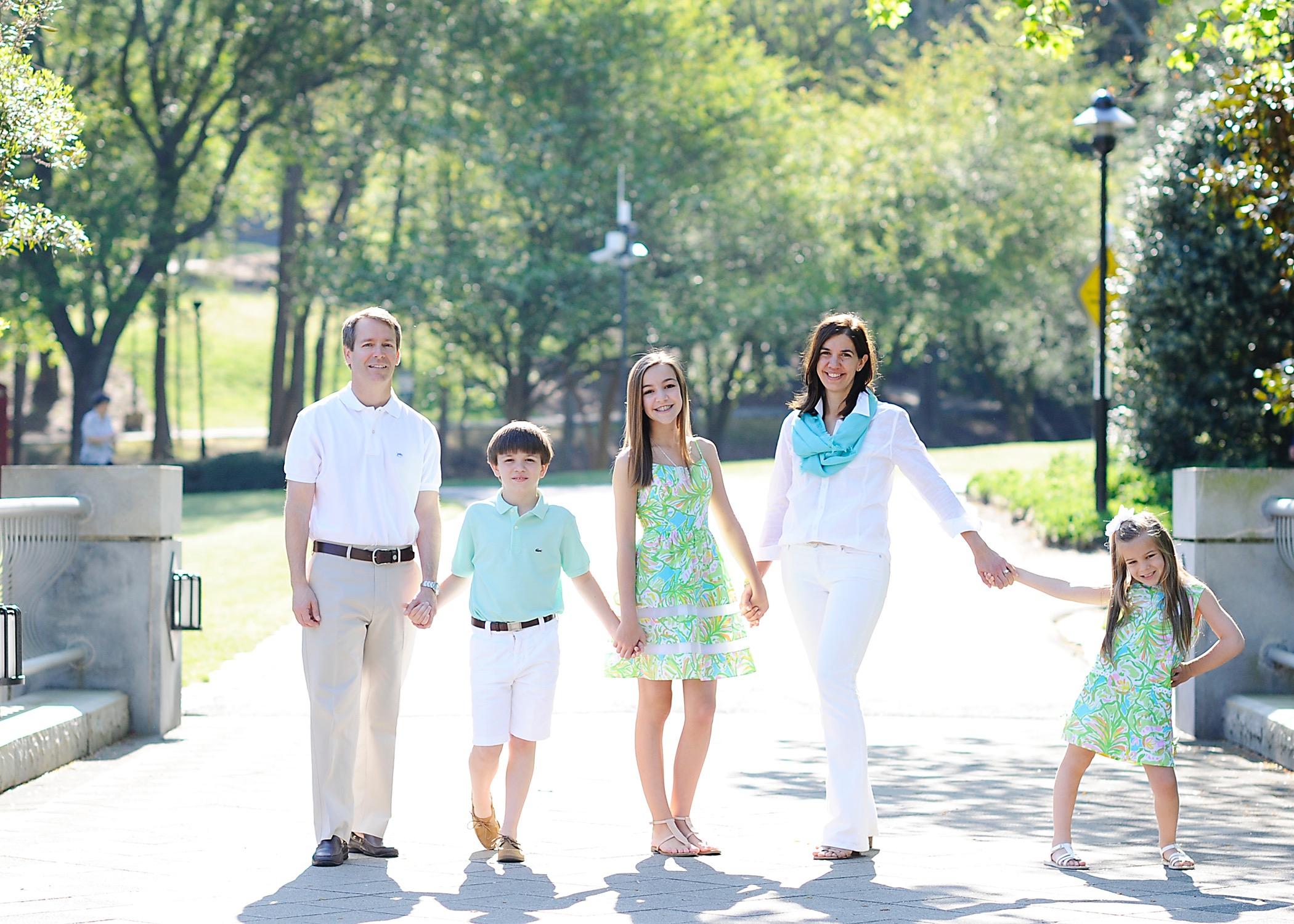 Bradford Family Standing
